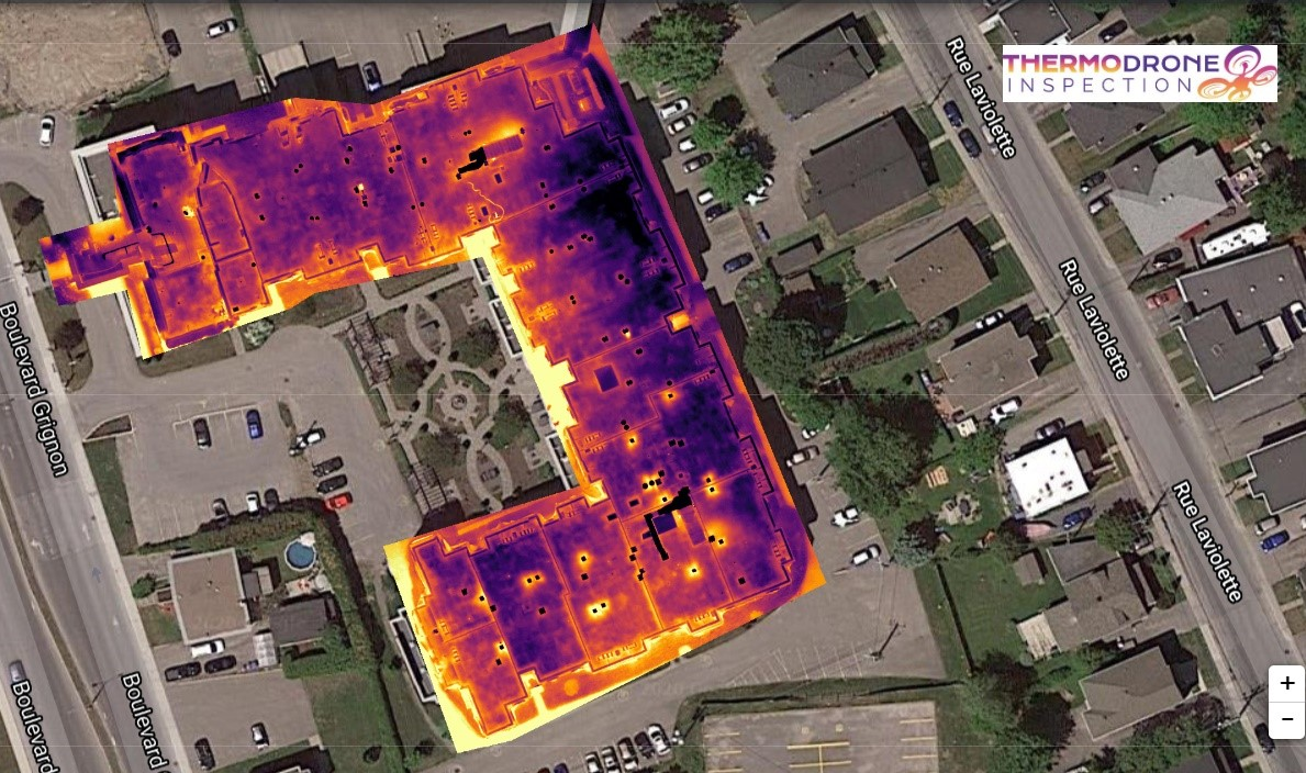 inspection de toiture par thermographie aerienne (par drone)
